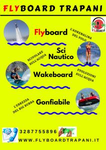 volantino flyboard trapani
